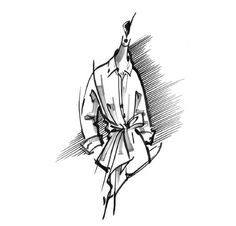 Carolina Herrera unveiled a pristine capsule collection under her ready-to-wear diffusion line CH, dedicated entirely to the classic white shirt. Fashion Art, Fashion News, Fashion Design, Shirt Sketch, Ch Carolina Herrera, Classic White Shirt, Largest Butterfly, Fashion Sketches, Fashion Illustrations