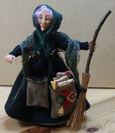 z by jendlewickdolls la befana christmas witch doll - Italian Christmas Witch