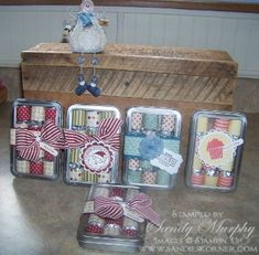 Stampin Up Craft Fair Projects Stampin' Up Holiday Mini On Line Extravaganza