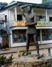Kwakoe-monument  Afschaffing van de slavernij