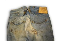 Levi Strauss & Co Spring Bottom Pants, c.1890's