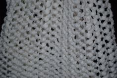 White Super Extra Long Scarf12 x 83    Purse Stitch by monroe2830, $24.95 Google Us @ Country Quilts & More By Monroe2830