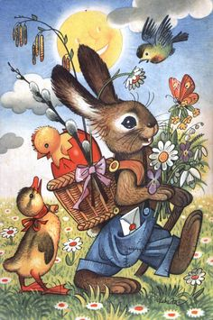 The Easter bunny ~ unidentified artist (vKubavFa?)                                                                                                                                                     More