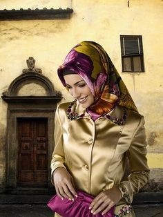 2012 Hijab Fashion Trends With Turkish Style.