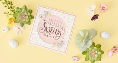Take a look at the tutorial below to find out how to make your own 'Hello Spring' aperture card. Make Your Own, Make It Yourself, Hello Spring, How To Find Out, How To Make, Aperture, Hobbies And Crafts, Embellishments, Easter