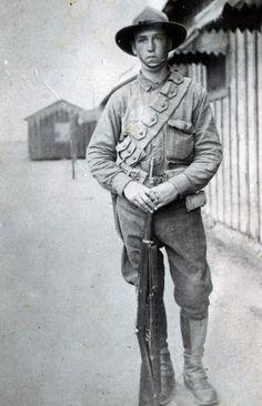 Arlie or Arthur Barnes WW1 at Camp Douglas AZ