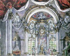 Alexandre Benois scenic design