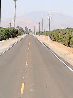 road ..central California