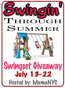 Enter to win a swingset!
