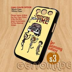 Supernatural- Print On Hard Case Samsung Galaxy S3 i9300 Plastic | GetToMade - Accessories on ArtFire