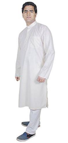 Mens Fashion Outwear Kurta Pajama Pants Indian Fashion Clothes Cream Size L RoyaltyLane http://www.amazon.co.uk/dp/B01AFYWW3I/ref=cm_sw_r_pi_dp_JUJQwb1DMJ0F3