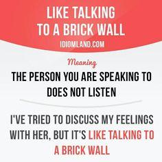 Come parlare al muro