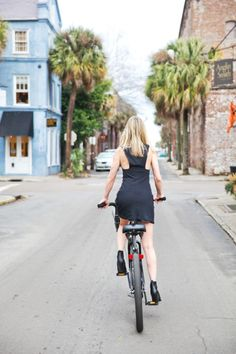 Geographically, downtown Charleston is small, and best explored via bicycle.