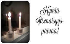 Itsenäisyyspäivä @YoursSblogi #itsenäisyyspäivä #juhlat #kynttilät
