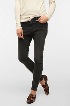 #UrbanOutfitters          #Women #Bottoms           #bdg #mid-rise #styling #5-pocket #inseam #spandex #relaxed #ankle #hip #exclusive #skinny #modern #jean #zip #front              BDG Low-Slung Skinny Jean Overview:* Modern skinny jean with a dropped inseam from BDG* Relaxed through the hip; tapered, skinny leg* 5-pocket styling; riveted front pockets* Whiskering at the hips* Added spandex for movement* Mid-rise; ankle length* Zip fly* UO Exclusive…
