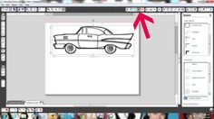 Tutorial on how to use the sketch function of the Silhouette Studio® Designer Edition software.