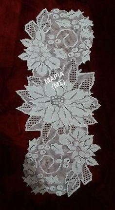 Romance with a crochet – Crochet tablecloth – Decke Crochet Dollies, Crochet Doily Patterns, Crochet Art, Cute Crochet, Crochet Motif, Beautiful Crochet, Crochet Designs, Crochet Stitches, Knitting Patterns