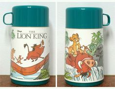 UNUSED Disney Lion King Thermos Aladdin Plastic VTG Hakuna Matata Simba Pumba The Lion King 1994, Timon And Pumbaa, Circle Of Life, Childhood Friends, Coming Of Age, Aladdin, Disney, Character, Vintage