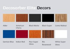The Decosorber Elite not only improves the quality, but also comes with a of wonderful Red Pear, Audiophile, Music Lovers, Matte Black, Acoustic, Australia, Colors, Colour, Color