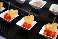 Parmazánové kanapky Menu, Pudding, Desserts, Food, Menu Board Design, Tailgate Desserts, Deserts, Custard Pudding, Essen
