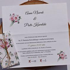 Kwiatowe zaproszenie FLORA. Wszystkie informacje na temat tego zaproszenia, znajdziesz na naszej stronie! Pan i Pani Zakochani Flora, Journal, Plants