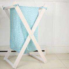 Foldable Wood Laundry Hamper DIY