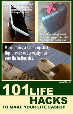 101 Life Hacks to make your life easier! | 5WaysTo.net