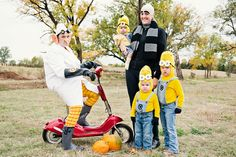 Despicable Me Costumes and scott won't even need a cap!