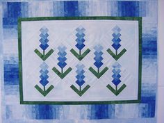 Quilt with bluebonnets...