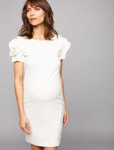 c9284c2d560 Pietro Brunelli Ruffled Maternity Dress