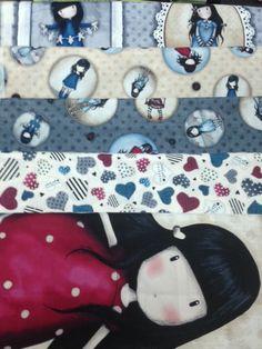 Volvemos a tener stock de todos los modelos de telas patchwork de la Colección Gorjuss