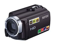 SEREE FHD 1080P Camcorders WIFI Connection 60FPS Dual SD Slot Night Vision External Battery 20MP 16X Digital Zoom 3 Inch Touch Screen Camera (HDV-501) review - http://www.bestseller.ws/blog/camera-and-photo/seree-fhd-1080p-camcorders-wifi-connection-60fps-dual-sd-slot-night-vision-external-battery-20mp-16x-digital-zoom-3-inch-touch-screen-camera-hdv-501-review/
