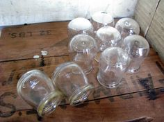 Glass Fire Cupping Cups Set of 9 Medical Glass Cupping by Sfuso #Vintage #Glass 		#GotVintage #Vintage #Pottery