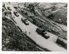 Press Photo 22 新闻老照片-中缅公路-抗战生命线 1940