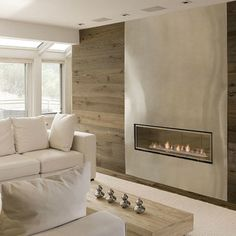 1000 images about linear fireplaces  linear contemporary Wall Contemporary Fireplace Designs Modern Linear Fireplace