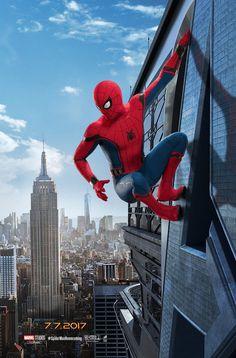 Homem-Aranha: De Volta ao Lar | Terceiro cartaz mostra herói escalando placa | Notícia | Omelete