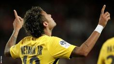 """Neymar replaced Javier Pastore in the PSG starting XI  Brazilian  striker Neymar said he feels """"more alive than ever"""" after marking his  Paris St-Germain debut with a goal and an assist at Guingamp.  The 25-year-old became the most expensive player in history when he joined PSG from Barcelona for 222m euros (200m).  He set up Edinson Cavani for his side's opener on Sunday before scoring the final goal in a 3-0 victory. """"People think that leaving Barca is to die but it's the opposite"""" he…"""