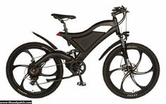 Elecycle EK-01 Fat Tire Electric Mountain Bike - Electric Vehicles / Electric Fat Tire Bicycles - TheSolPatch.com