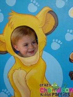 lion king first birthday theme