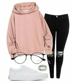 A fashion look from January 2017 by eemaj featuring Boohoo, Vans, Cartier and Ra. - Fashion - Source by Outfits for teens Cute Lazy Outfits, Casual School Outfits, Teen Fashion Outfits, Swag Outfits, Simple Outfits, Outfits For Teens, Pretty Outfits, Stylish Outfits, Edgy Teen Fashion