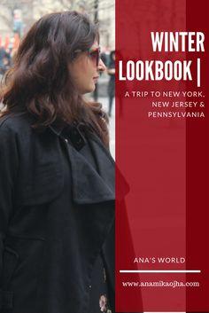 Winter Lookbook | A Trip To New York, New Jersey & Pennsylvania