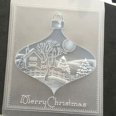 Barbara Gray's Blog. One Day at a Time.: A very Groovi Bauble. Stencil trick!