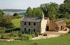 old farm house extension rural style architecture