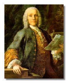 Domenico Scarlatti (1685 - 1757)  Scarlatti was a well-trained and professional composer able to write successfully for a number of genres. Unlike his father, he found the keyboard composition sufficiently challenging and inspirational for him to be content for supplying his patroness with over 500 such works, a project which fully occupied his last two decades.