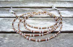 Brillenkette von Unbehauen - Schmuckdesign auf DaWanda.com