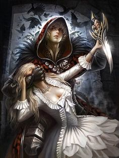 Fantasy Love, Anime Fantasy, Dark Fantasy Art, Fantasy Artwork, Dark Art, Character Inspiration, Character Art, Fantasy Couples, Deviant Art