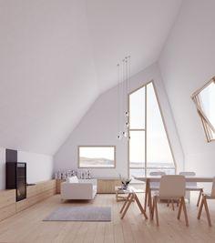 Ølberg Seaside Houses On Behance