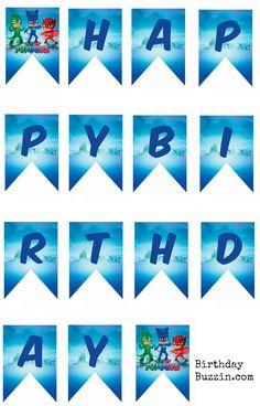 Printable-PJ-Masks-birthday-banner.jpg (1194×1863)