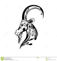 goat tattoo - Hledat Googlem