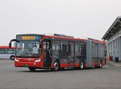 Gelenkbus Scania/Volgren, Stadt Niigata/JAPAN